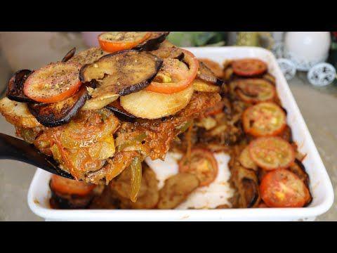 طريقة مسقعة الباذنجان والبطاطس والحم المفروم مع الشيف منير الحداد Youtube Cooking Recipes Cooking Recipes