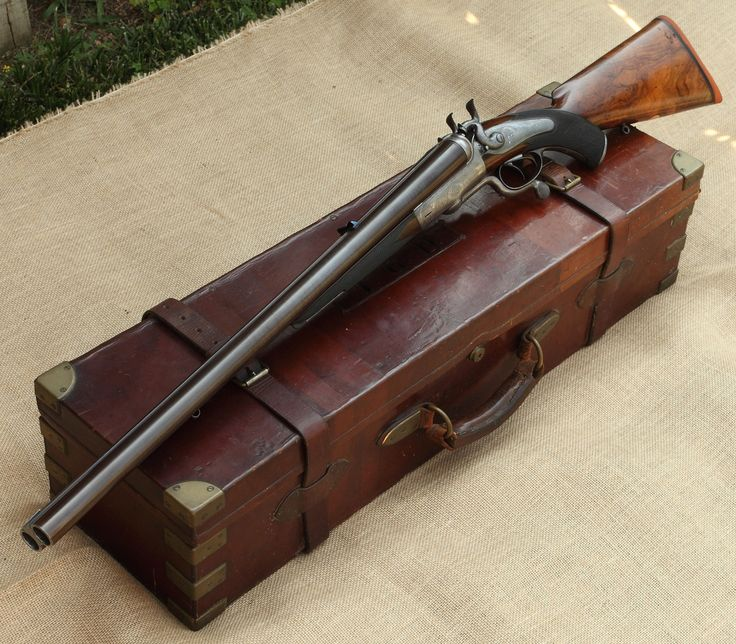 Double Barrel Elephant Rifle | photo of the Earl of Ava in his 17th Lancers Uniform (taken between ...