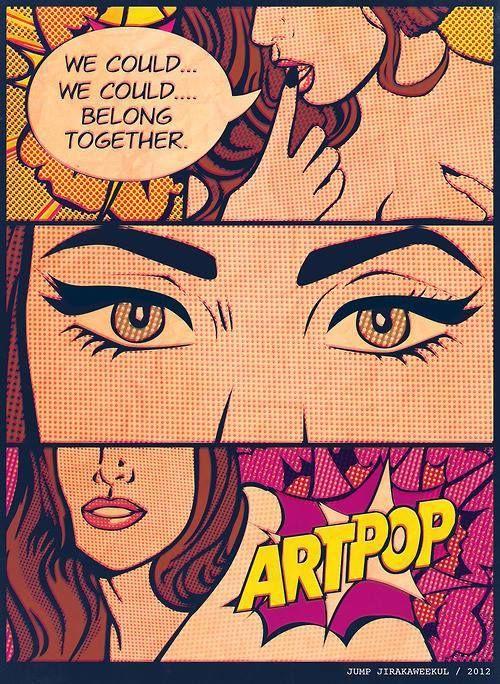 pop art goodness