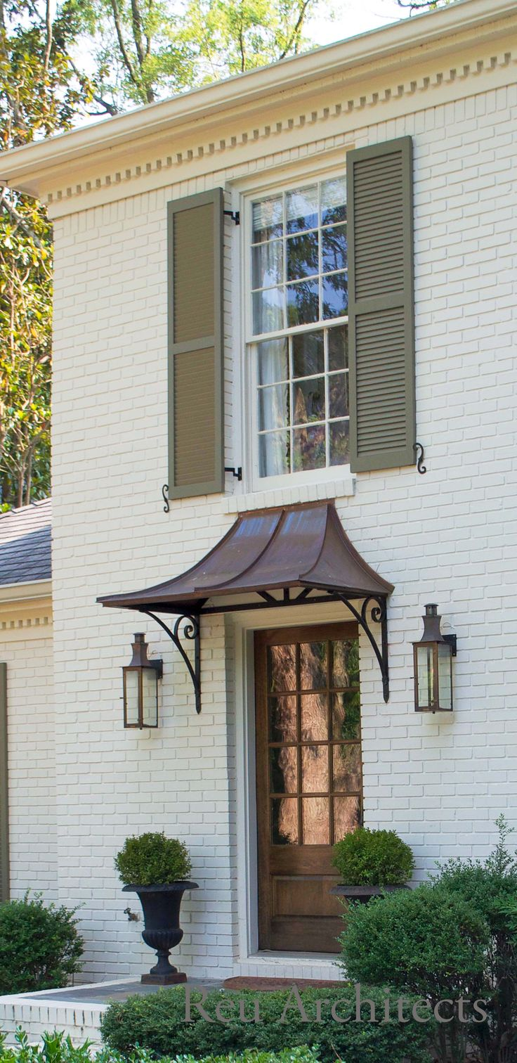 Awning Doors & Images For Front Door Awnings | Awning Over ...