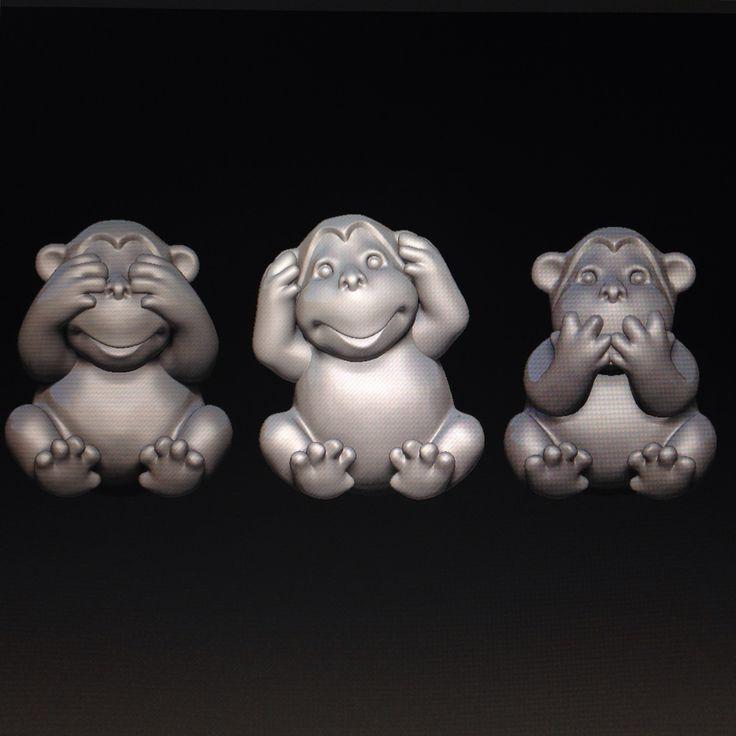 #Monkey #zbrush