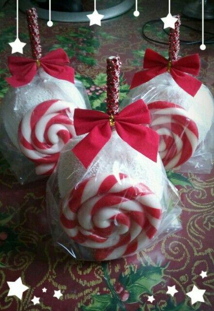 how to make caramel apple lollipops
