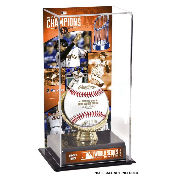 "Hunter Pence San Francisco Giants Fanatics Authentic 2014 World Series Champions 10"" x 5.5"" Gold Glove Baseball Display Case - $39.99"