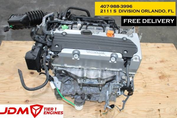 Honda Accord 2008 2009 2010 2011 2012 Acura Tsx Engine 2009 2010 2011 2012 2013 2014 Jdm K24a Engine Imported From Japan L Acura Tsx Honda Accord Subaru Motors