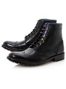 Sealls combination brogue boot