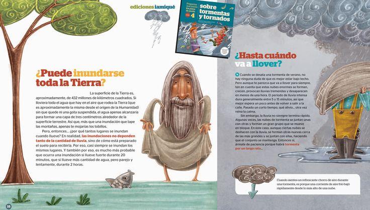 ¿Puede inundarse toda la Tierra? ¿Hasta cuando va a llover?  #PreguntasQuePonenLosPelosDePunta #TormentasYtornados #LibroConBlog