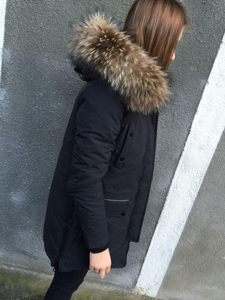 doudoune longue noir - Brentiny Paris