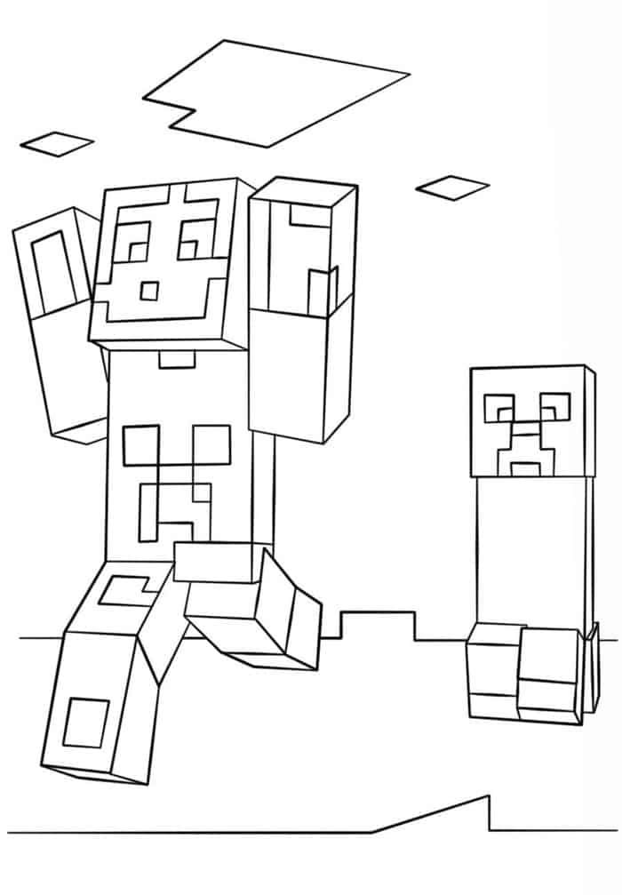 Minecraft Coloring Pages Zombie Minecraft Coloring Pages Coloring Pages Coloring Pages Inspirational