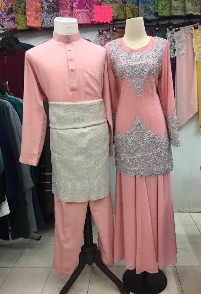 Baju Warna Pink Peach