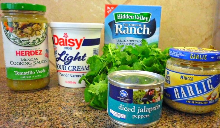 Creamy Tomatillo Jalapeno Ranch Dip ~ http://FlavorMosaic.com