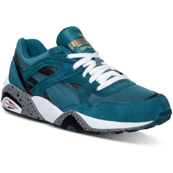 puma shoes men blue