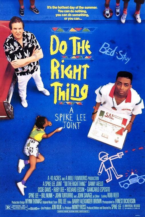 "Mookie, Sal's Pizzeria, Radio Raheem, Buggin Out, Bed-Stuy, and Public Enemy's ""Fight the Power""...made this 1989 movie a classic."