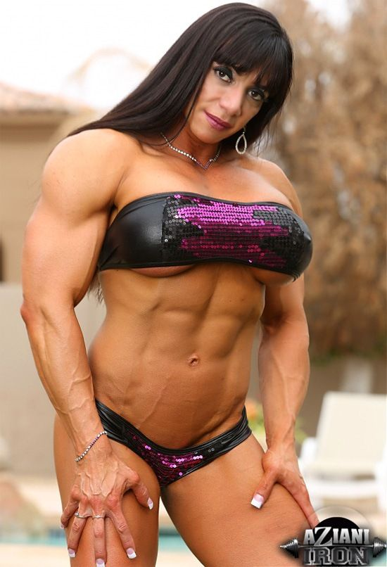 Sexy black muscle women-2644