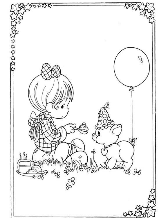 precious moments birthday coloring page - Bing Images