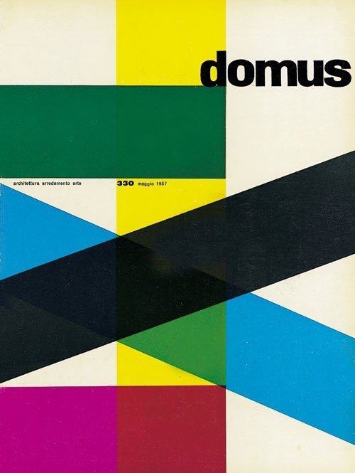 Domus No. 330 May 1957 (57 years later it's incredibly close to Biennale Architettura 2014 brand image)
