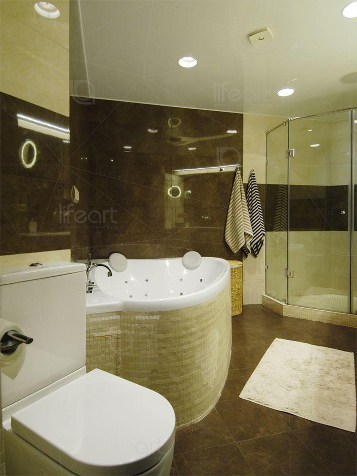 Современная ванная комната «Золотая гавань» | lifeat.su