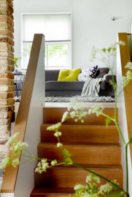 "This nice stairway is from our feature ""Rural Welcome"""