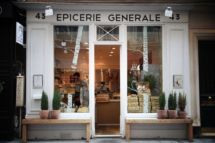 Épicerie Générale A great speciality food store selling classic french items like Beurre Bordier and all the perfect fixings for a wonderful picnic on the Champs de Mars.