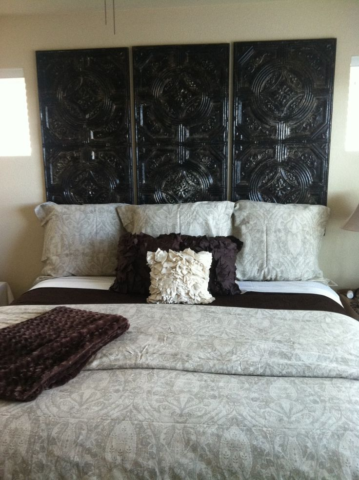 Best 20 cheap headboards ideas on pinterest diy fabric Homemade headboard ideas cheap