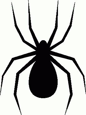 free spiders clipart free clipart images graphics animated gifs rh pinterest com free cartoon spider clipart free animated spider clipart
