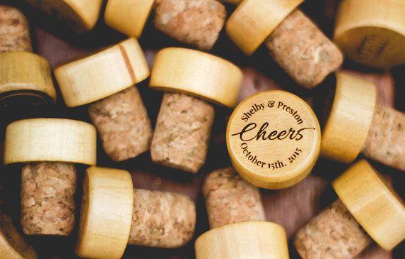 Personnalisé de vin bouchon Cheers  taquet de vin par AllFavorShop