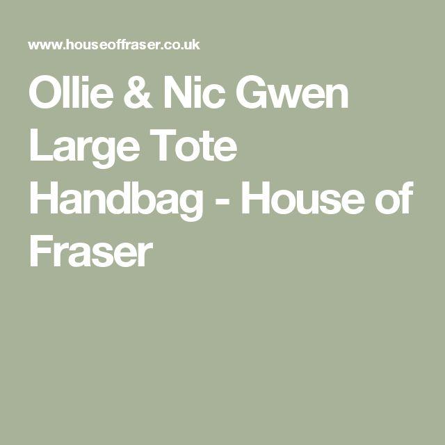 Ollie & Nic Gwen Large Tote Handbag - House of Fraser
