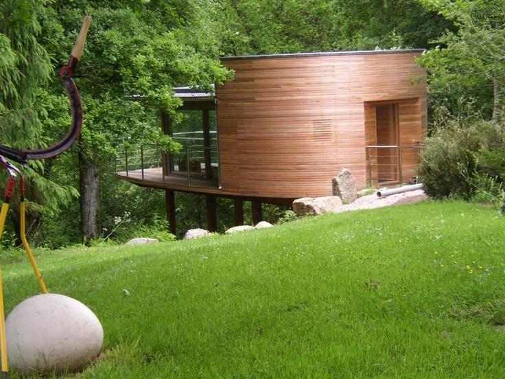 "Devonshire ""Tree House"" by Carpenter Oak."