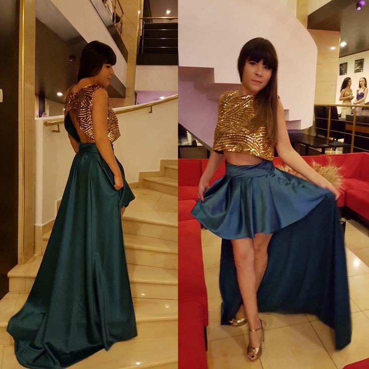 O ținută unică pentru o seara perfectă! Am ales din nou pe cei mai buni pentru o vestimentatie deosebita! Multumesc La Belle Robe-by Alina Gherman!