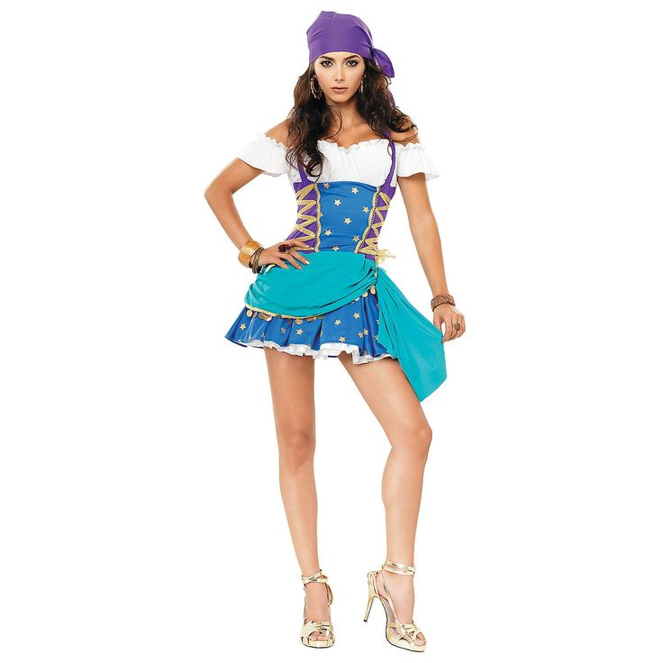 Gypsy Princess Halloween Costume for Teen Girls - OrientalTrading.com