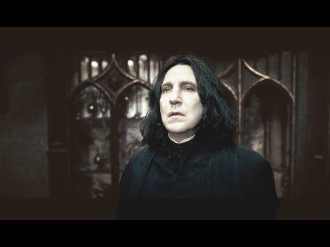Severus Snape | Important Scenes in Chronological Order - YouTube
