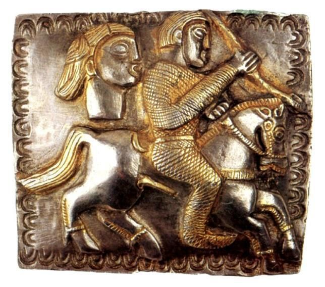 A plaque provenance from Eastern Celts