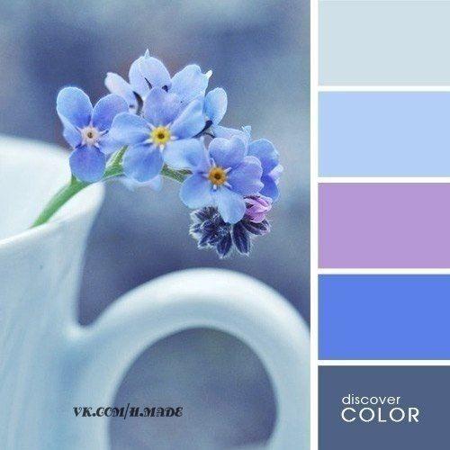 Сочетания цветов, красивые палитры