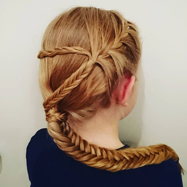 "64 likerklikk, 15 kommentarer – Louise Fife (@braidymom) på Instagram: ""Experimenting this morning. Not sure about the result. What do you think? #frenchbraid…"""