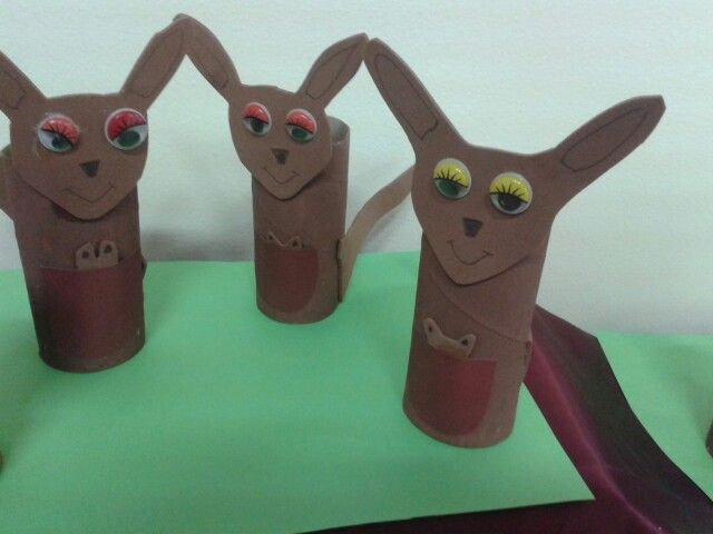 Here We Have Selected The Best Photos Tippytoe Crafts Kangaroos Dewacoloringcom