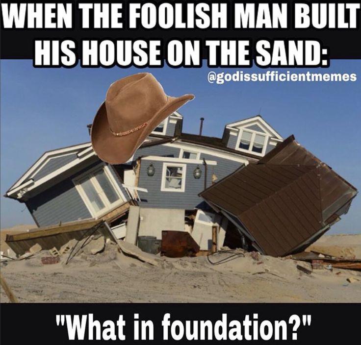 what in foundation meme #Christian #memes