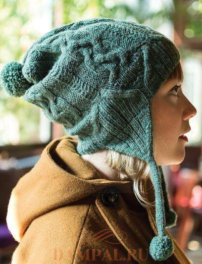 шапка с ушками в 2020 г   Вязаные шапки, Зимние шапки, Шапка