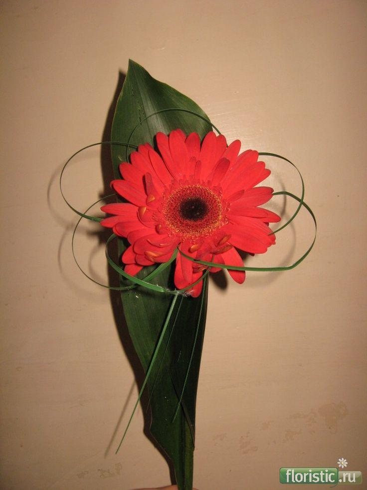 Упаковка одного цветка - Страница 8 - Флористика: популярный флористический…