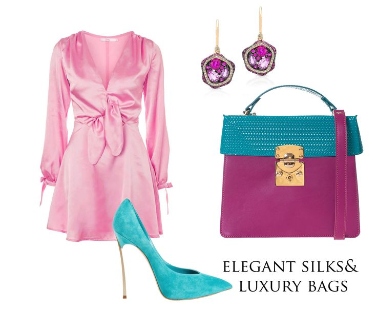 The Amanda leather bags are gracefully colored so as to offer your outfit a chromatic refinement that will catch all eyes. Pair them with silky dresses and turquoise high heels and you will get an outstanding glamorous look.