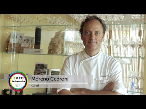 Moreno Cedroni, 2 Michelin stars and 3 Forks Gambero Rosso chef, for EXPO 2015. In his restaurant La Madonnina del Pescatore, Marzocca, 22 km from the Castle, you will find this refined cooking laboratory focused mostly on fish, that combines fantasy with the ability to blend the ingredients.    #food #castellodimonterado #destinazionemarche http://www.castellodimonterado.it/en/restaurants/madonninapescatore