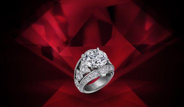 Brilliance at your fingertips. #CartierDiamonds #Cartier