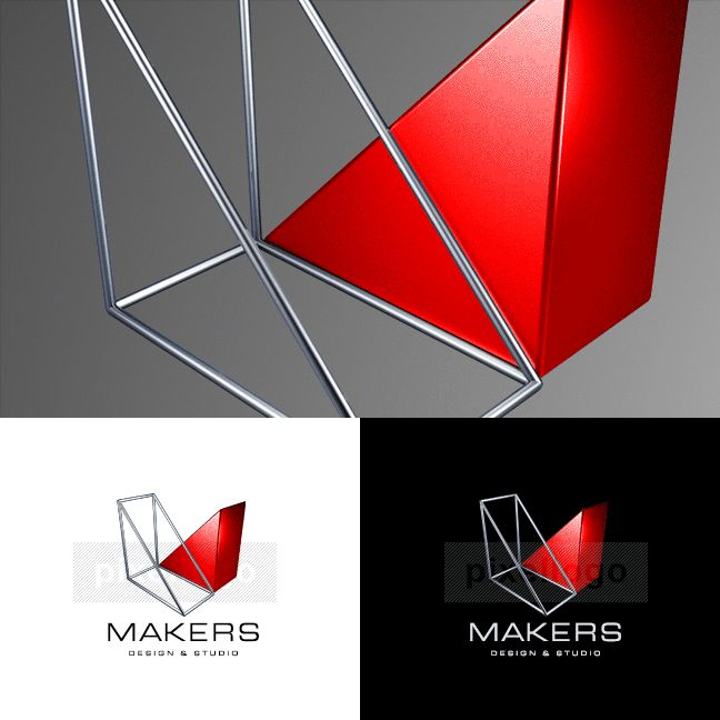 Engineering company logo 3D-1081
