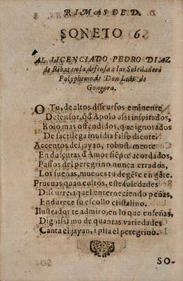 Antonio de Paredes. Rimas