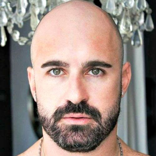 17 bald men with beards guys with beards shape and bald guy. Black Bedroom Furniture Sets. Home Design Ideas