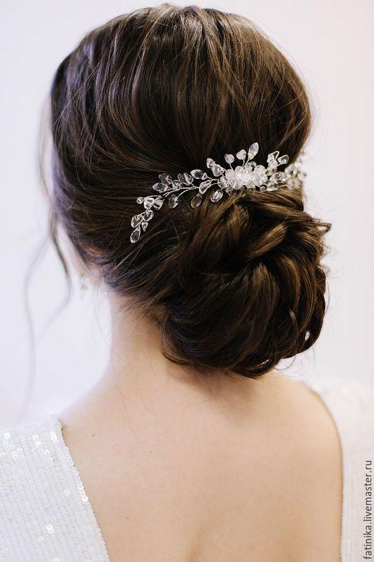 Long Wedding Hairstyles & Bridal Updos via Evgeniya Lebedeva /  / http://www.himisspuff.com/wedding-hairstyles-from-evgeniya-lebedeva/7/