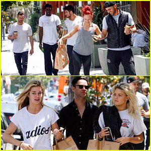 Witney Carson, Sharna Burgess, Lindsay Arnold & DWTS Cast Grab Lunch Together