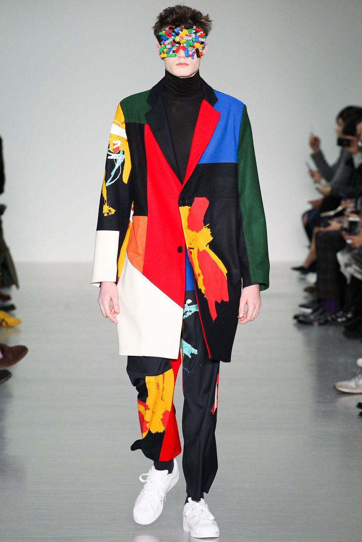 This is so amazing, beautiful outfit and beautiful makeup.... Agi & Sam - Fall 2015 Menswear