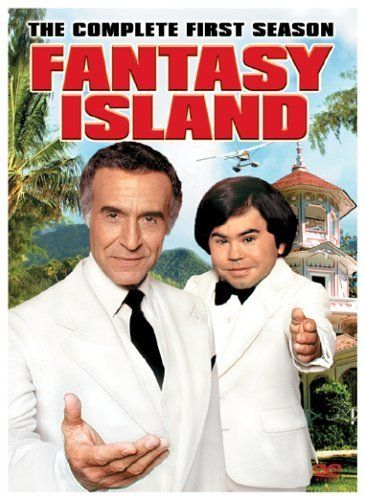 """1977-1984...Fantasy Island..""""the plane, the plane""""  Tales of visitors to a unique resort island that can fulfill literally any fantasy requested.    Creator: Gene Levitt  Stars: Ricardo Montalban, Hervé Villechaize and Carol Lynley"""