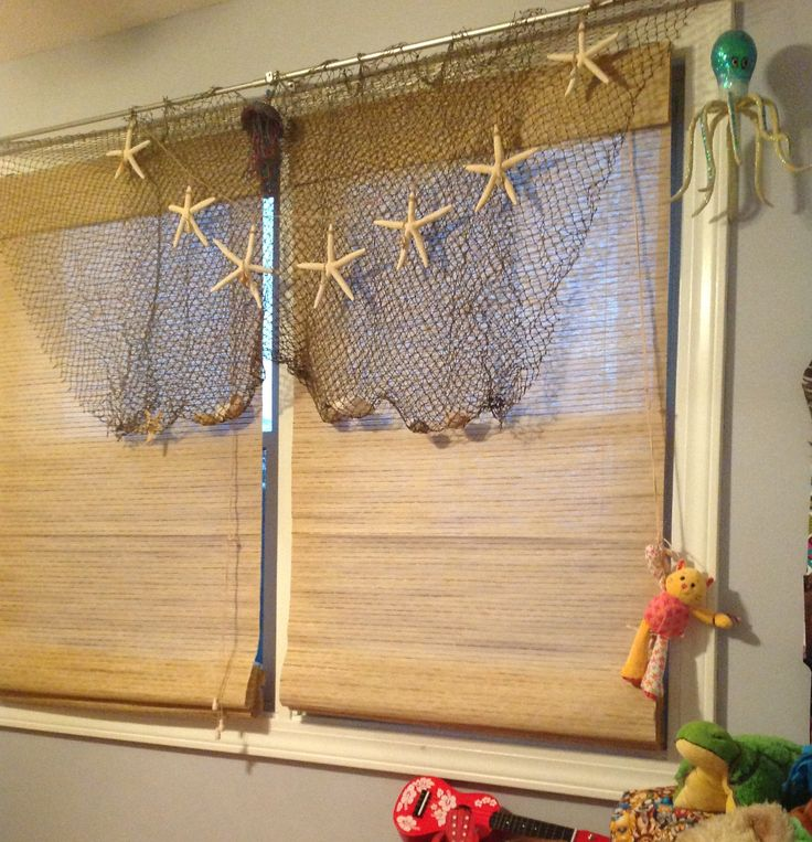 20 best images about ideas for the house on pinterest for Fish curtains for windows