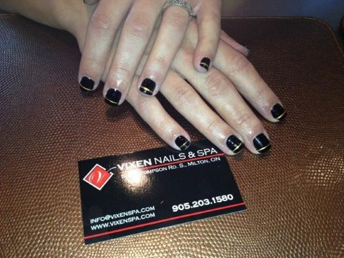 Shellac Mani with class