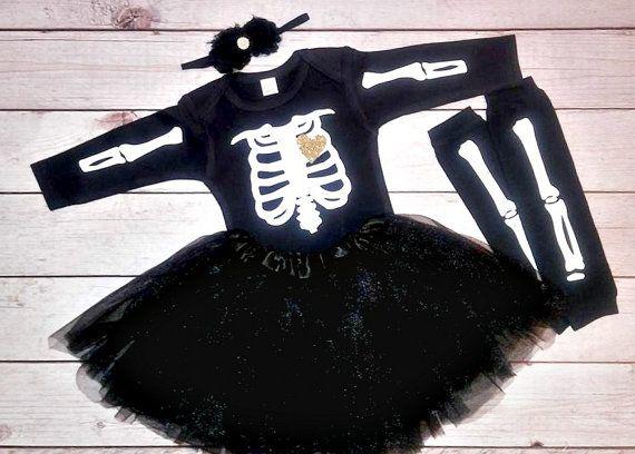 baby halloween costume ideas - baby skeleton costume